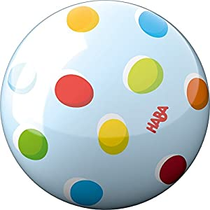 Haba 301997 Ball Regenbogenpunkte