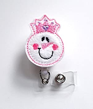 Amazon.com: Muñeco de nieve princesa – Vacaciones ID Badge ...
