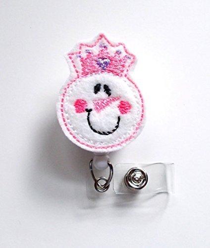 Amazon.com: Muñeco de nieve princesa – Vacaciones ID Badge ...