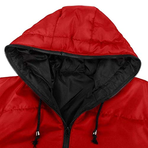 Fashion Young Ultralight Sleeve Rot Down Warm Quilted Long Hoodie Jacket Coat Men's Jacket Winter Coat A Fashion Casual Down Thick Parka 1dWnqO1xvz