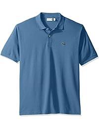 Men's Short Sleeve Classic Chine Fabric L.12.64 Original Fit Polo Shirt, X-Small