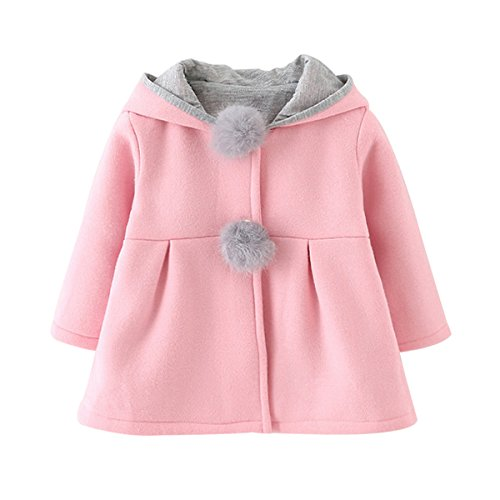 ddcdab315e74 Top 9 bunny jacket baby girl