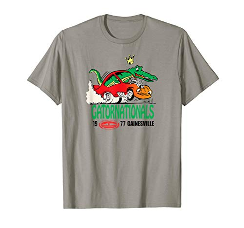 NHRA 1977 Gatornationals t-shirt (Nhra Clothing)