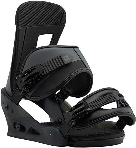 Burton Freestyle Snowboard Bindings Black Matte Sz L (10+)