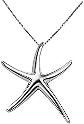 Sterling Silver Starfish Penda...