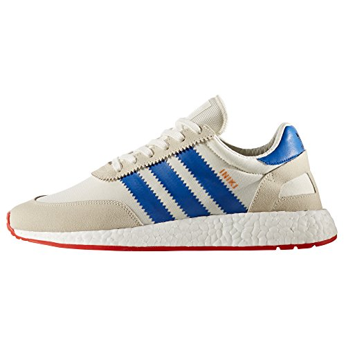 adidas Originals Iniki Runner I-5923, BB2092, BB2093. Scarpe Sportive Uomo Marine e Bianche. Sneaker Boost Off White/Blue/Core Red