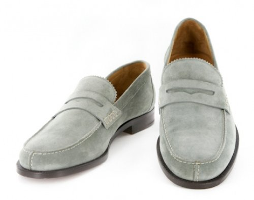 New Sutor Mantellassi Gray Shoes 7/6 e8Yw13KyHB