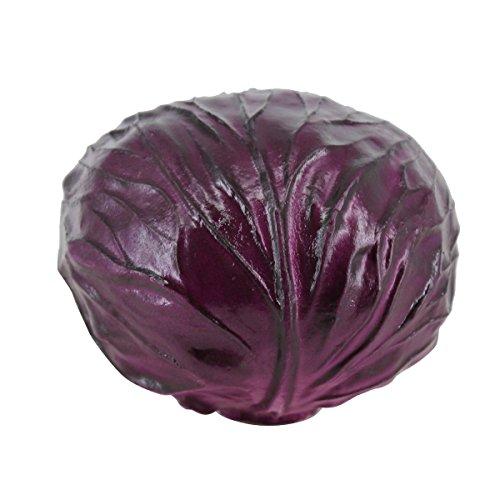 Lorigun PU Fake Red Cabbage Simulation Bubble Fruits & Vegetables Emotion Arrangement Scenes Props Simulation X 1Pcs Cabbage by Lorigun (Image #7)
