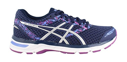 ASICS Women's Gel-Excite 4 Running Shoe, Indigo Blue/Blue/Orchid, 9 W US