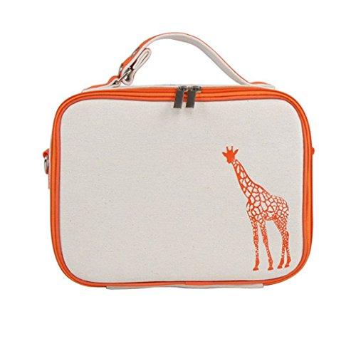 portatile stoccaggio di sacchetto Borsa Cooler arancione KOROWA Picnic isolata termica porta Tote Borsa qYUXW6Pwx