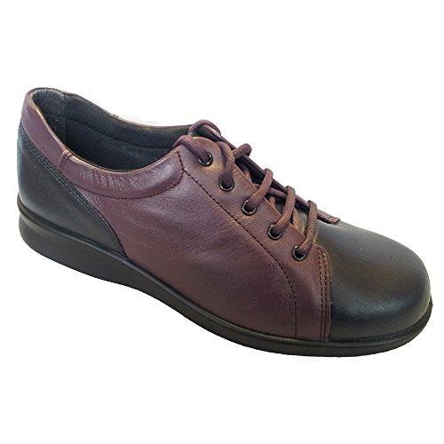 Phoebe Leather 79007P 4E Navy Lace Plum Shoes Womens 7H5dwq7