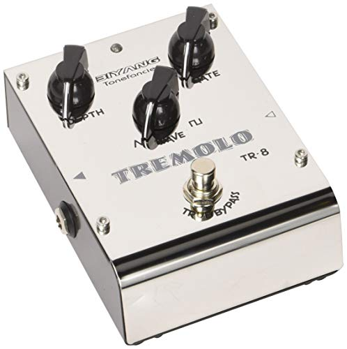 Tremolo Pedal,Guitar Effect Pedal Classic Tremolo Effects with Depth Rate Wave 3 - Classic Effect Tremolo