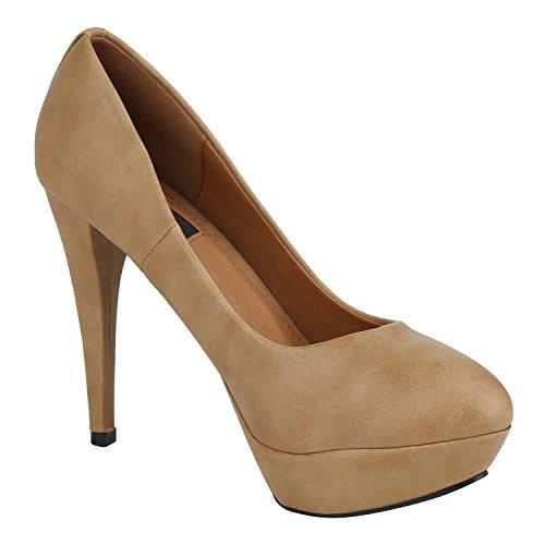 Napoli Chiuse Beige Scarpe Basic Donna fashion nSpZg