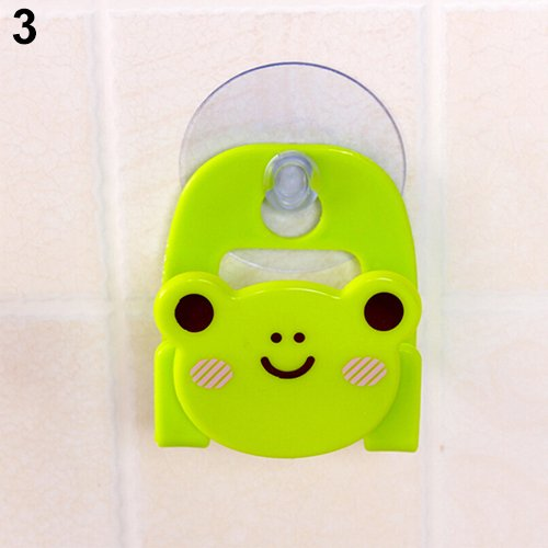 yanQxIzbiu Cartoon Animal Soap Sponge Suction Drying Holder