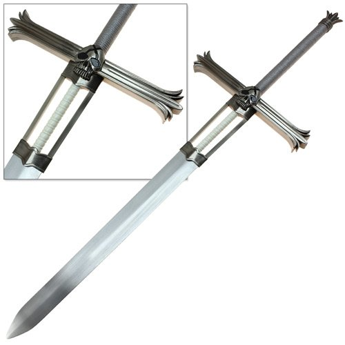 Japanese Anime Huge Sword Replica Released Claymore Carbon Steel