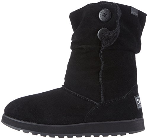 Boots Keepsake Skechers Temps Usa Freezing Black Womens Slouch qBPC6