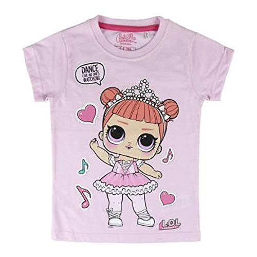 Diva M.C Swag Girls T-Shirt with LOL Dolls Rocker L.O.L Surprise IT Baby Kids Cotton Summer Top Children Clothing from Age 4 BFF Fancy /& Fresh Leading Baby