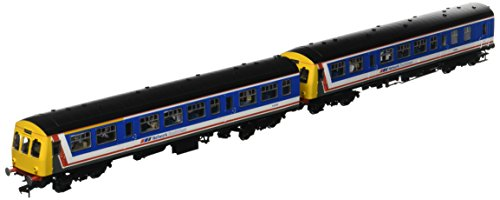 Branch-Line 32-290DS Class 101 2 Car Dmu Network Southeast with Passenger Figures (DCC Sound) OO Scale Model Train from Bachmann Branch-Line