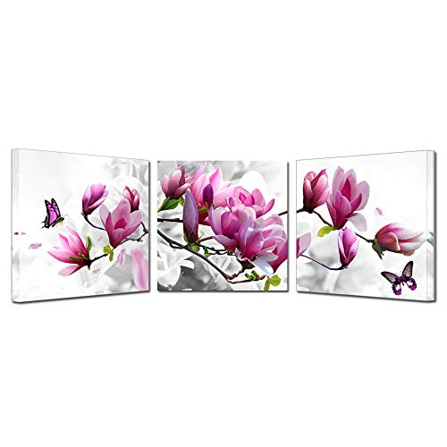 Kreative Arts Magnolia Blossom Time Stretched Canvas Prints