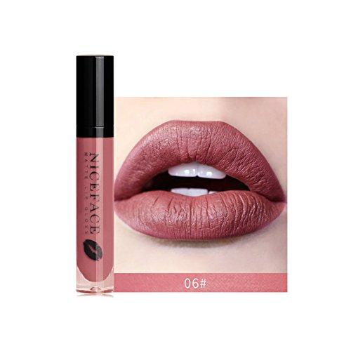 - Yiitay Gloss Makeup SuperStay Matte Liquid Lipstick Nude Matte Lipstick Waterproof Long Lasting Matte Liquid Lipstick Beauty Lip Gloss Lip Color