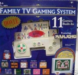 HOYLE FAMILY TV GAMING SYSTEM - 11 GAMES BUILT-IN