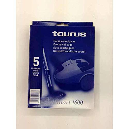 Taurus Bolsas Aspirador Smart 1600 E: Amazon.es: Hogar