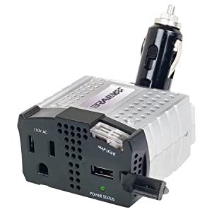 rally manufacturing 7220 100w power inverter with usb port map light