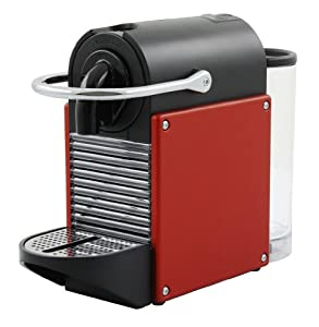 nespresso pixie coffee machine carmine red by magimix kitchen home. Black Bedroom Furniture Sets. Home Design Ideas