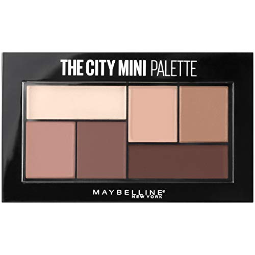 Maybelline New York The City Mini Eyeshadow Palette Makeup, Matte About Town, 0.14 oz.