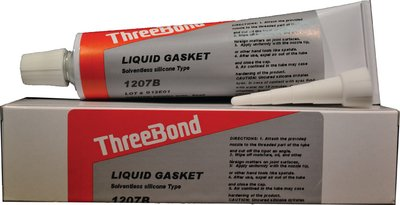 Black Silicone Liquid Gasket (Three Bond)