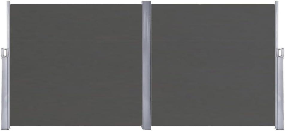 sailun® toldo lateral (Visión Protección Protección Solar, cortavientos, 160/180 x 300 cm Antracita/Gris/Beige Toldo plástico de poliéster: Amazon.es: Hogar