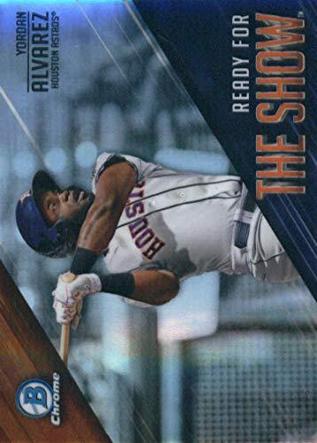 2019 Bowman Ready for the Show #RFTS-17 Yordan Alvarez Houston Astros Baseball Card