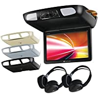 Planet Audio P11.2Es Flip-Down Tft Multimedia Player With Built-In Ir Transmitter & Fm Modulator (11.2 Widescreen Monitor)