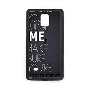 Case for Samsung Galaxy Note 4, Perfect Case for Samsung Galaxy Note 4, Dustin Black