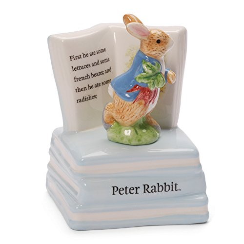 Gund Classic Beatrix Potter Peter Rabbit Musical Sculpture