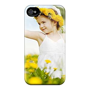 Lxp16001LRAC Cases Covers Protector For Iphone 6 Little Girl In The Dandelion Field Cases