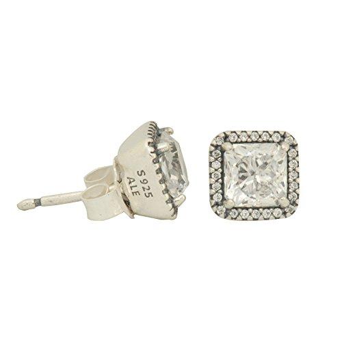 Pandora Timeless Elegance Silver One Size Earring 290591CZ