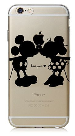 coque iphone 7 mickey noir