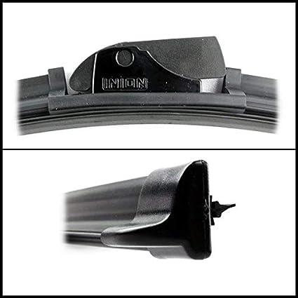 650 450mm Multi Adapter Aero Gelenklose Scheibenwischer Wischerblätter Inkl Plug Play Clips Wischer Ohne Sichtbaren Metallbügel Auto