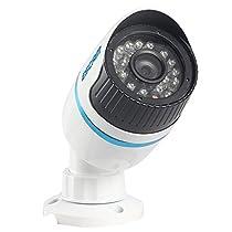 Escam Q630 Ir Bullet Camera Hd 1.0 Megapixel Ir Waterproof 6mm Lens Mini Bullet Camera 1/4 Cmos 720p P2p Home Surveillance Security Camera Onvif Network Camera