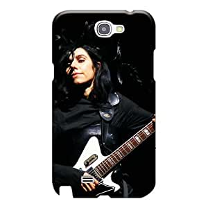 Perfect Hard Phone Cases For Samsung Galaxy Note 2 (fiZ18425dWKU) Allow Personal Design Nice Children Of Bodom Band Series