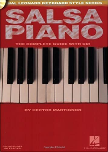 Book Salsa Piano - The Complete Guide with CD!: Hal Leonard Keyboard Style Series by Martignon, Hector [Paperback(2007/5/1)]