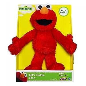 Sesame Street Playskool Let's Cuddle Elmo Plush