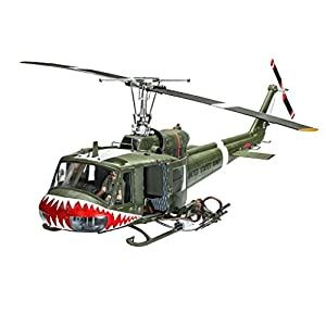 """REVELL OF GERMANY 04905 1/24 Bell UH-1B - 41ptgogrS8L - Bell Uh-1 """"huey"""""""