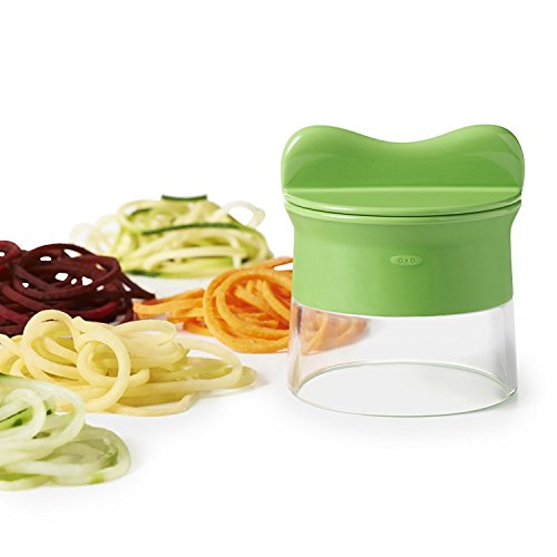 OXO Good Grips Handheld Spiralizer, Green by OXO (Image #1)