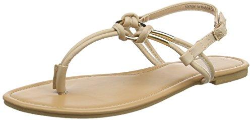 New Look Heated - Sandalias con tacón Mujer beige (Oatmeal)