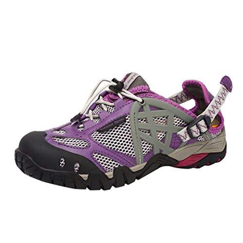 JJLIKER Men Women Couple Water Shoes Quick Dry Barefoot Aqua Swim River Shoes for Pool Beach Hiking Walking Shoes
