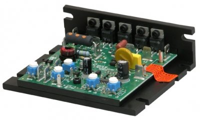 KB Electronics, 9429, KBIC-120, 0-90VDC, .5 HP, Chassis, DC DriveRequires Horsepower Resistor)