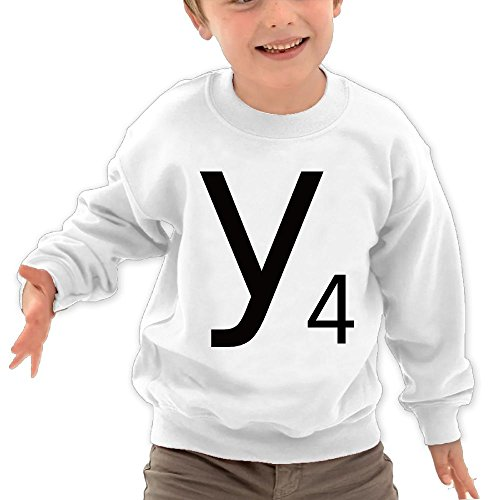 Letter Y 4 Todller Kids Unisex Shirts 2-6 Years Old (Alphabet Chest Toy Collection)