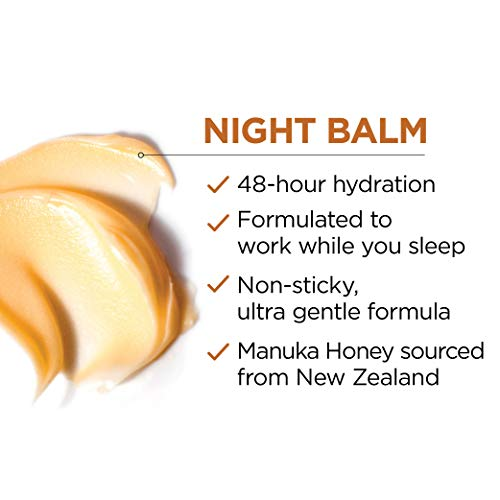 41pthO1lMGL - Night Cream by L'Oreal Paris, Age Perfect Hydra-Nutrition Night Balm Face Moisturizer with Manuka Honey Extract and Nurturing Oils to Comfort and Improve Resilience on Dry Skin, Paraben Free, 1.7 oz.